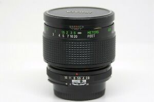 VIVITAR-Auto-Macro-55mm-F2-8-Nikon-F-Mount-EXC