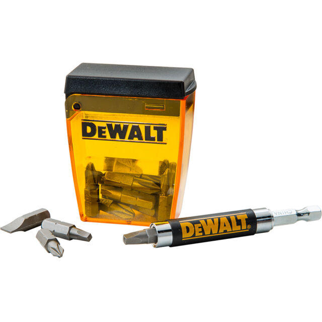 DeWalt 18-Piece Magnetic Drive Guide Set - Power Tool Accessories > Drill Bit...