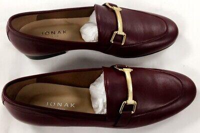 JONAK PARIS Mocassin Femme Sempre Cuir Bordeaux Taille 38 Chic | eBay
