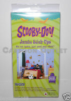 Scooby Doo Wall Stickers Jumbo Wall Decorations 20+ Reusable