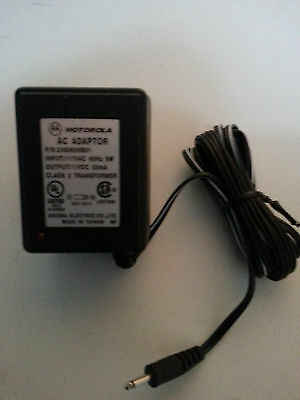 2 Motorola NTN9393A Adapter Power Supply Charger TALKABOUT