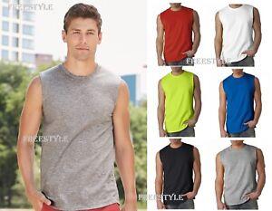 a1f06c54162d66 Gildan 2700 Ultra Cotton Sleeveless Men s Sports T-Shirts Tank Top ...