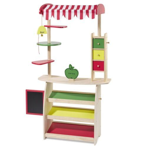 Howa compra cargar//mercado stand con toldo de madera 4747