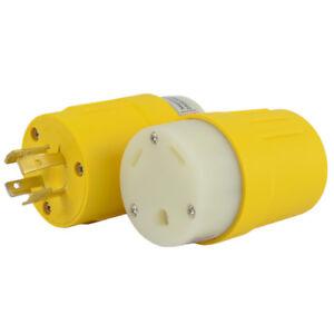 30 Amp Rv Plug >> Conntek 14106 L14 20p To Tt 30r 20 Amp Generator To 30 Amp Rv Plug