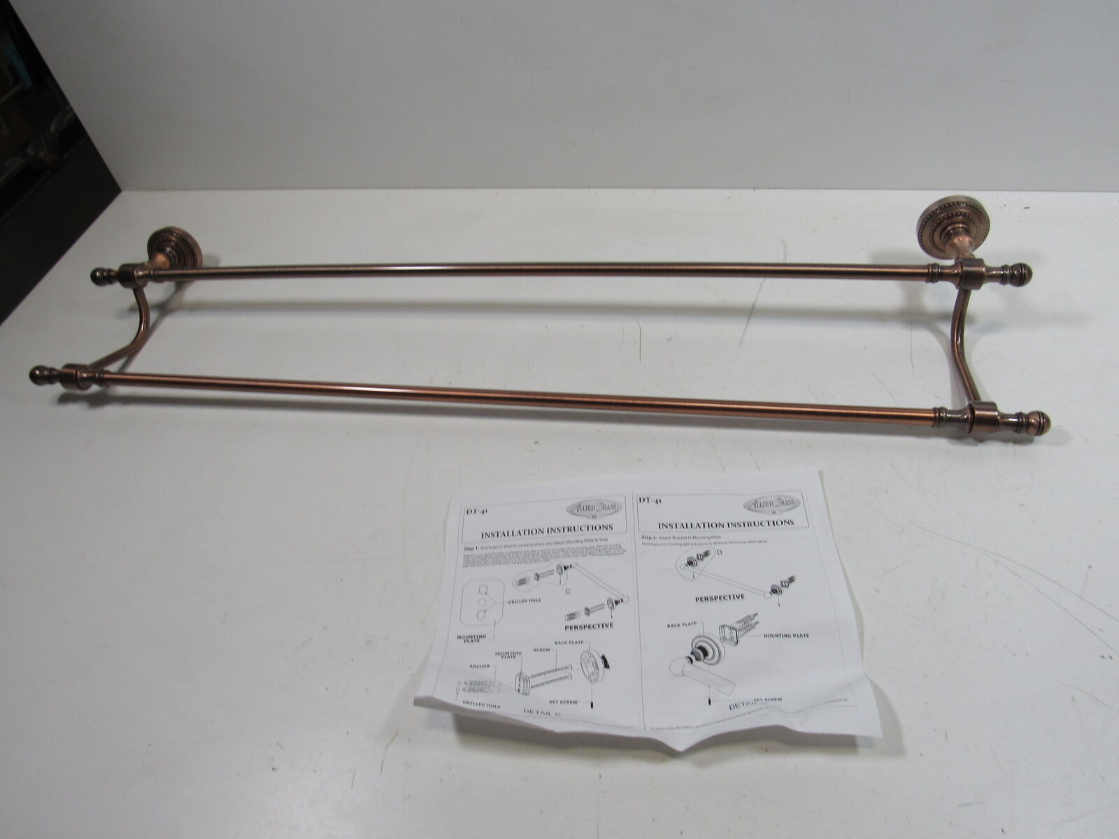 Allied Brass QN-31//30-ORB 30-Inch Towel Bar Oil Rubbed Bronze