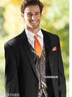 Camouflage Mossy Oak Camo Tuxedo Vest Blaze Euro Free Hanke & Ship Real Pockets