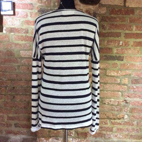 White Breton Collection Linen Weekend By Navy Lewis Top John 8 100 Stripe Size rIq8IxSw