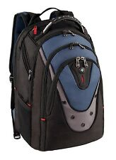 Swissgear Ibex 17-inch Laptop Backpack - Black/Blue - GA-7316