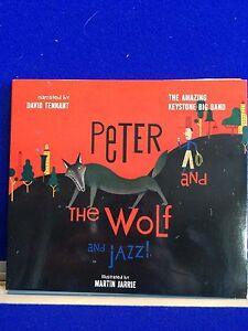 NEW-UNSEALED-Peter-and-the-Wolf-and-Jazz-David-Tennant-The-Amazing-Keystone