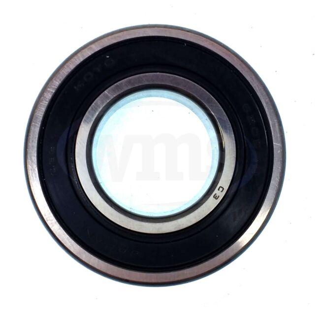 Koyo 62052RDC3 Single Row Ball Bearing Double Rubber Seals 25mm x 52mm x 15mm