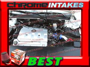 RED 96-97 1996 1997 CADILLAC SEVILLE STS//SLS 4.6 4.6L V8 AIR INTAKE KIT