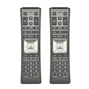 Details about 2 Pieces Comcast / Xfinity XR11 Premium Voice TV Backlit  Remote Control for X1