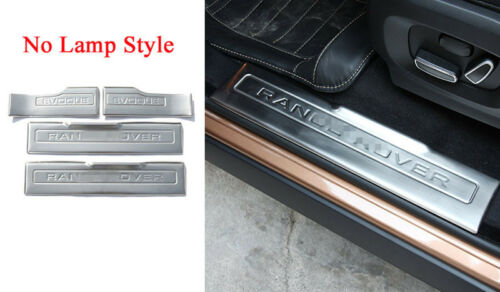 2012-2018 Door Sill Scuff Threshold Plate For Range Rover Evoque Without Lamp