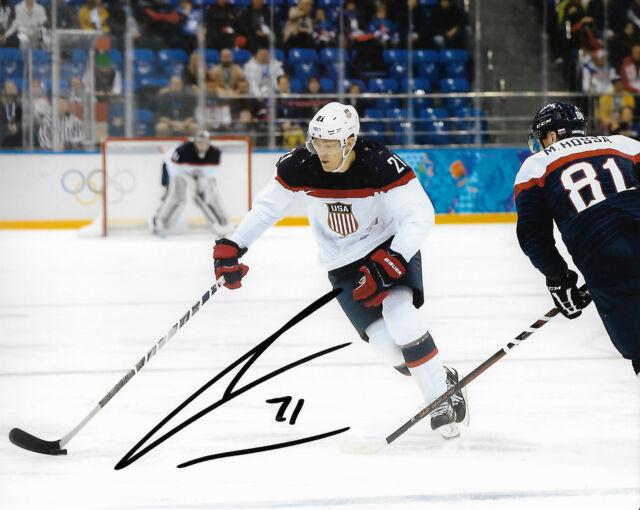 Team USA James Van Riemsdyk Autographed Signed 8x10 Photo COA