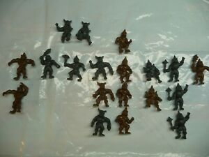 ORC-FIGURES-PLASTIC-HARD-TO-FIND-RARE-NOW-LOT-2-ADD-ON-POSES