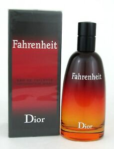 Fahrenheit-Cologne-by-Christian-Dior-3-4-oz-EDT-Spray-for-Men-Sealed-New-Packing