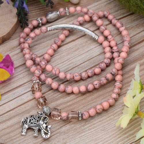Silver Buddha Fashion Men Unisexe Bracelet en pierre naturelle Gem Design