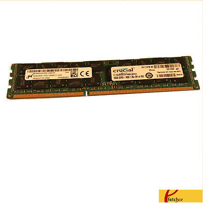 16GB 2X8GB MEMORY FOR DELL POWEREDGE C1100 C2100 C6100 M610 M710 R410 R510