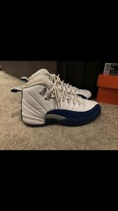 new product 47811 7fe15 Details about Nike Air Jordan 12 Retro French Blue Size 5