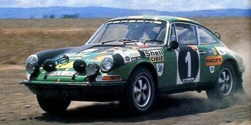 1:43 decal Racing43:Porsche 911 2.2 S Facit Safari 1971 Anderson