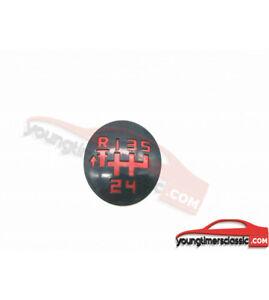 Pastille-205-pour-pommeau-de-vitesse-5-vitesses-grille-rouge-BE1