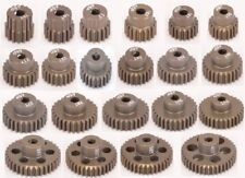 48 DP Pitch Pinion Gear With Grub Screw 7075 Hardened Coated Long Life Core RC