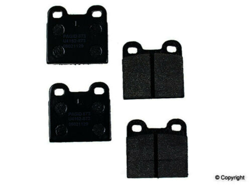 Disc Brake Pad Set-Pagid Rear,Front WD Express 520 00301 345