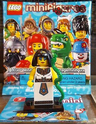Lego the Egyptian Queen figurine LEGO FIGURINE SÉRIE 5 complète