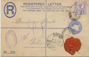 2447-1895-QV-2D-postal-stationery-registered-env-uprated-Jubilee-5D-THROGMORTON