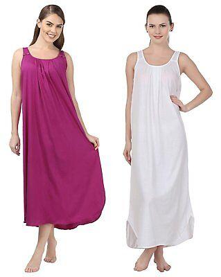 Details about  /Vivid Voilet Nightie Babydoll Lingerie Womens Dress Chemise Nightwear Set of 2
