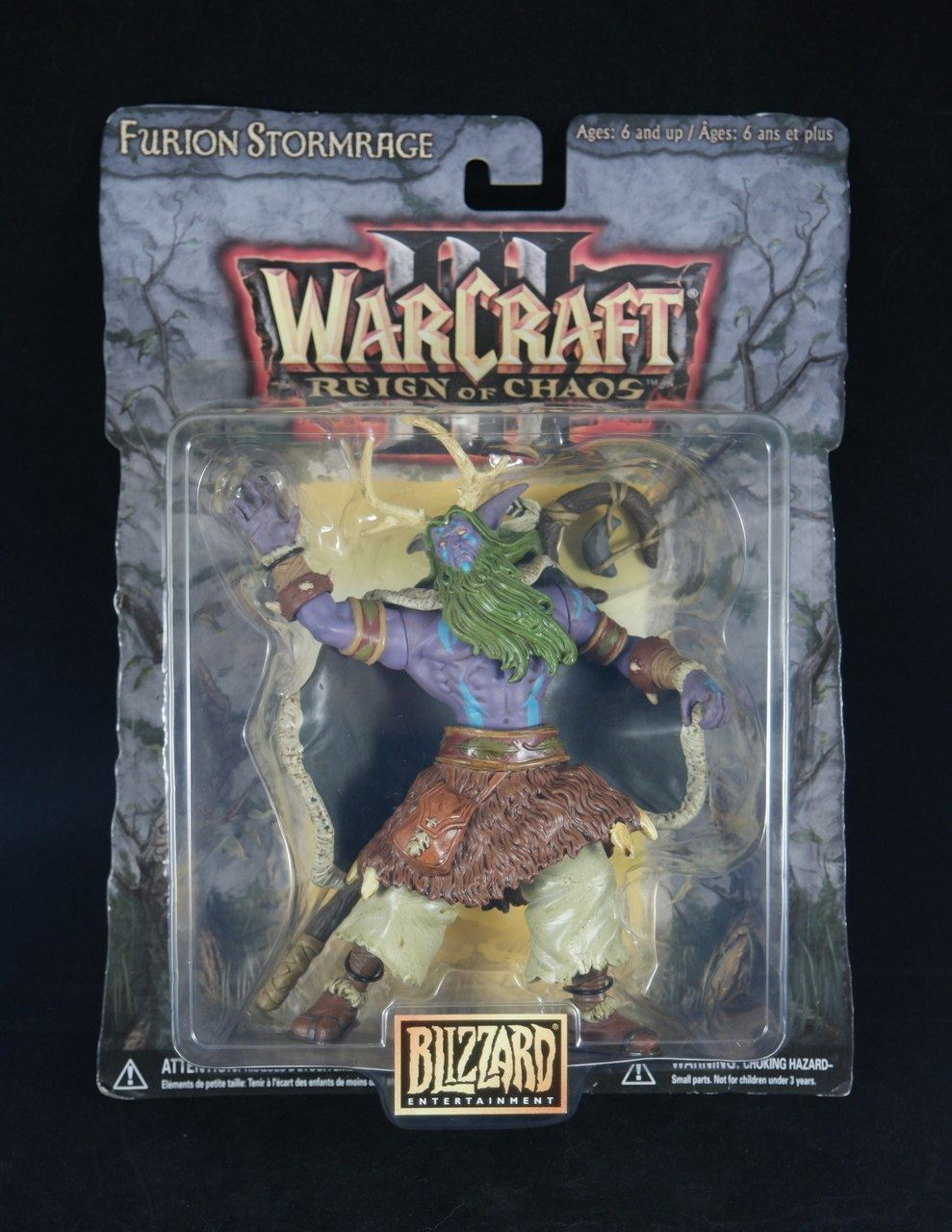 BLIZZARD ENTERTAINMENT Furion Stormrage of  Warcraft Reign Of Chaos  7  2002 NEW