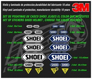 Decal-Stickers-adhesivos-pegatinas-adesivi-aufkleber-autocollants-SHOEI-HELMET