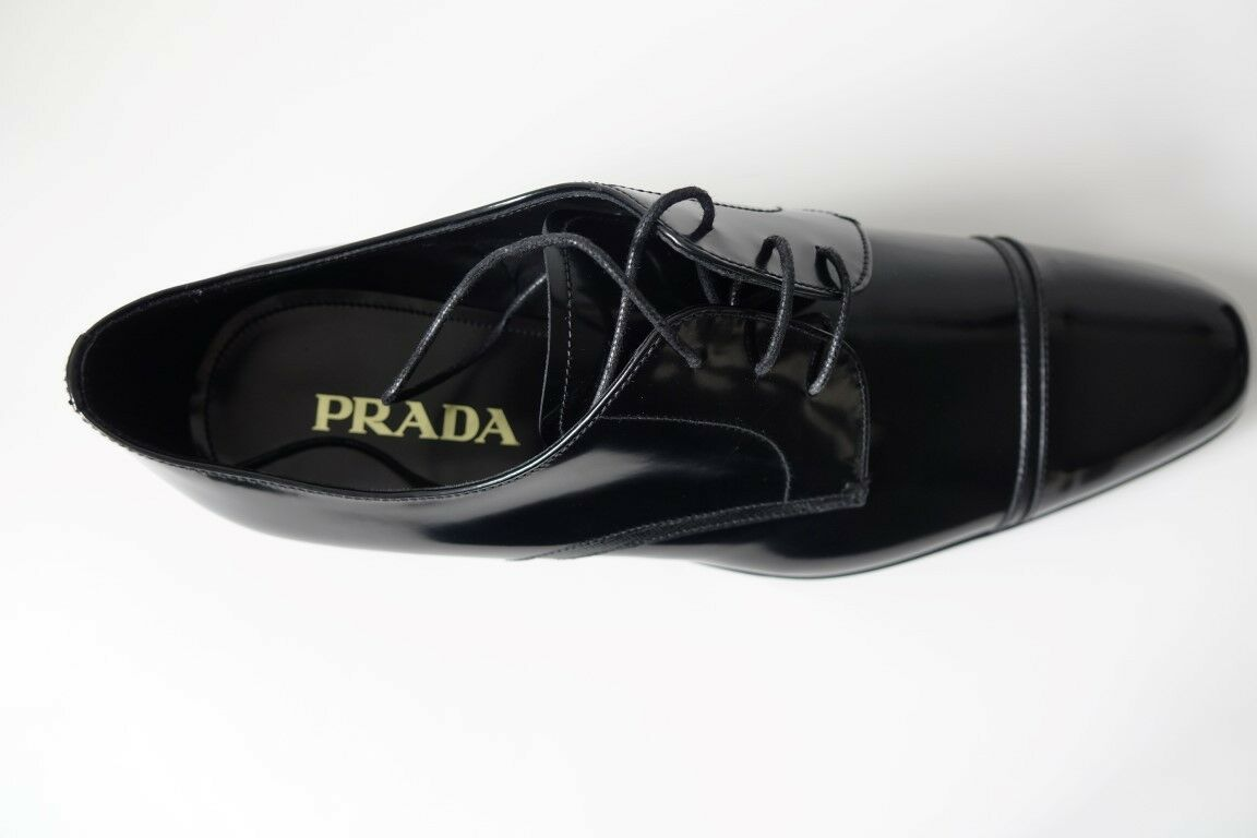 PRADA chaussures  Herren Herrenchaussures  Businesschaussures  NEU/ORIGINAL - GR 10,5 (44,5) - NEU/ORIGINAL  3f46cd