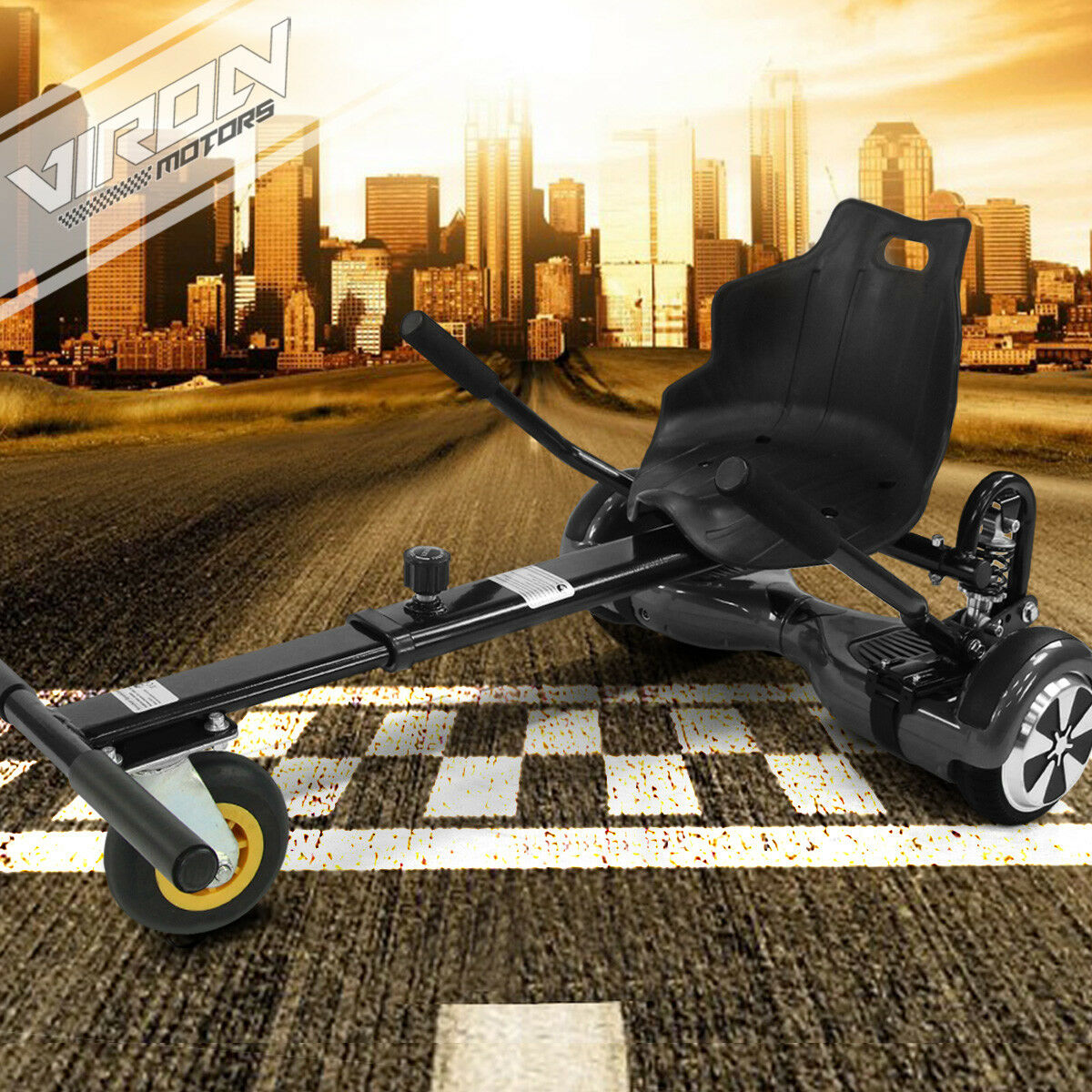 Hoverkart para self Equilibrar scooter e-scooter Tablero sede hover SEAT con suspensión