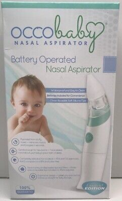 Safe Hygienic And Quick Battery Operated 100% Original Baby Safety & Health Occobaby Baby Nasal Aspirator