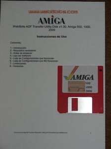 Transfer-Kit-Amiga-ADF-Amiga-500-1000-600-1200-2000-3000-4000