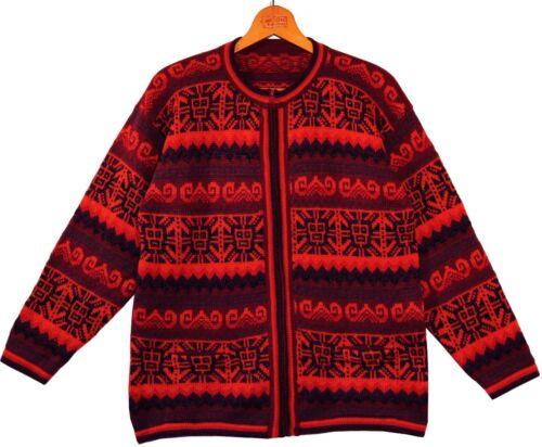 Chaqueta gr peruana oscuro Alpaca de chaqueta de punto naranja alpaca de púrpura m lana de l 0SxqRr4w0