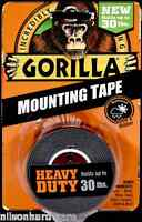 Gorilla Mounting Tape 30 Heavy Duty Indoor Outdoor Double Sided Weatherproof