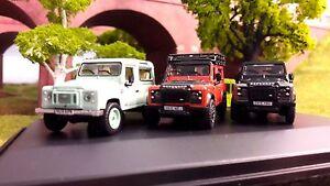 1-76-OO-Land-Rover-Defender-TDCi-90-Heritage-Vert-Aventure-Autobiography-x3