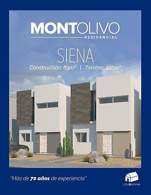 Casa en Venta Montolivo Residencial Siena, en Chihuahua, Chih.2 Recámaras