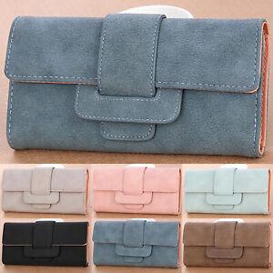 Women-Leather-Wallet-Purse-Ladies-Long-Coin-Card-Clutch-Handbag-Fold-Holder-Case