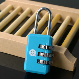 how to open a 3 digit combination lock on luggage