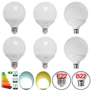 NEW-12W-15W-18W-G95-G120-LED-Opal-Edison-Filament-Light-Globe-Lamp-Bulb-B22-E27