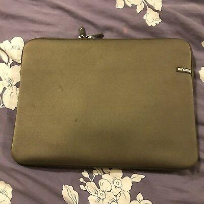"""OEM Incase 08 Neoprene Sleeve 13"""" 14"""" 15"""" Laptop MacBook Air Pro BLACK CL57099"""