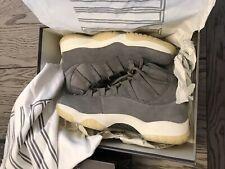 jordan 11 grey suede for sale