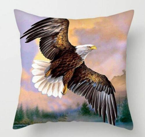 Golden Eagle Funda De Cojín Pintura Retrato American