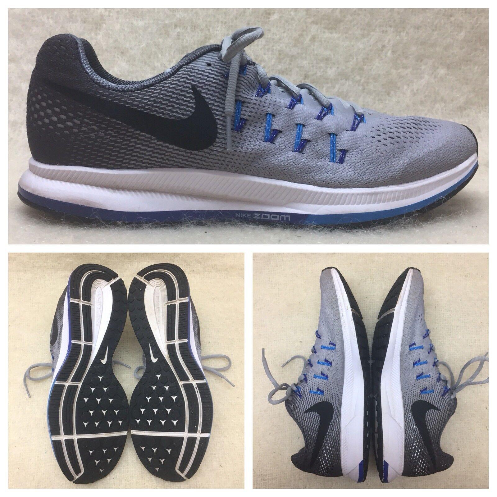 NIKE Zoom Pegasus 33 Running Exercise Shoes 831352-004 Men's Size 11.5