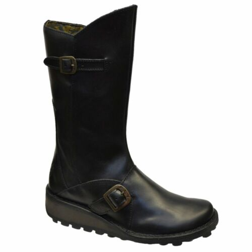 Fly London Mes Womens Wedge Boots in Various Sizes and Colours