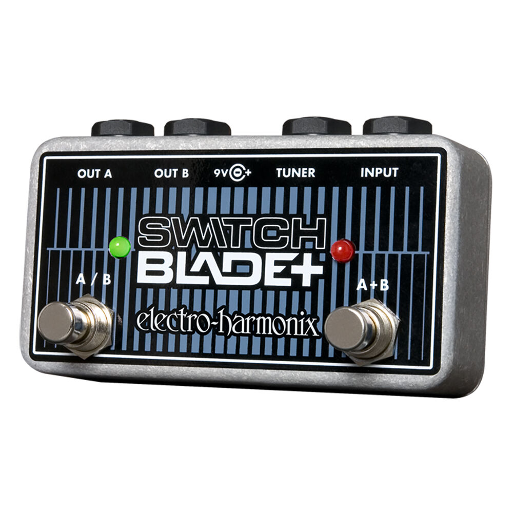 Electro Harmonix Switchblade + Plus Plus Plus Selector de canal a b Pedal bfa258