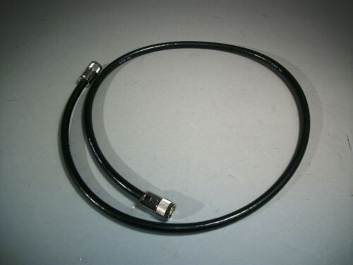 Male ITT Pomona Electronics Coaxial 1658-T-48 Cable Connector Type N